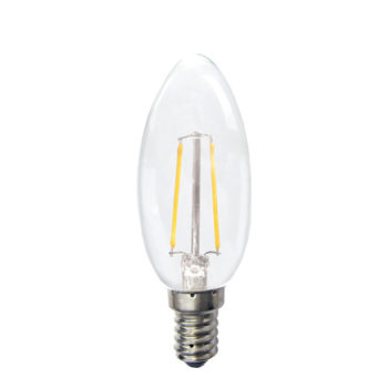 HomeSYS Home Automation | LED Dimmable Filament Candle Bulb