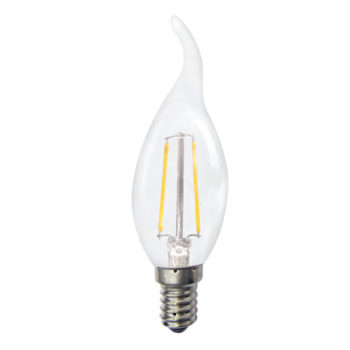 HomeSYS Home Automation | LED Dimmable Filament Turntip Bulb